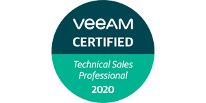 VEEAM Technical Sales Professional VMTSP