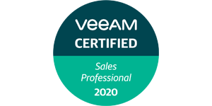 VEEAM Sales Professional VMSP